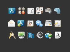 System icons for S06